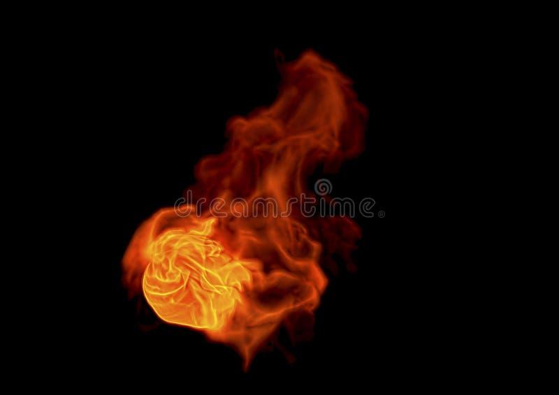 Llama del fuego - representación 3D libre illustration