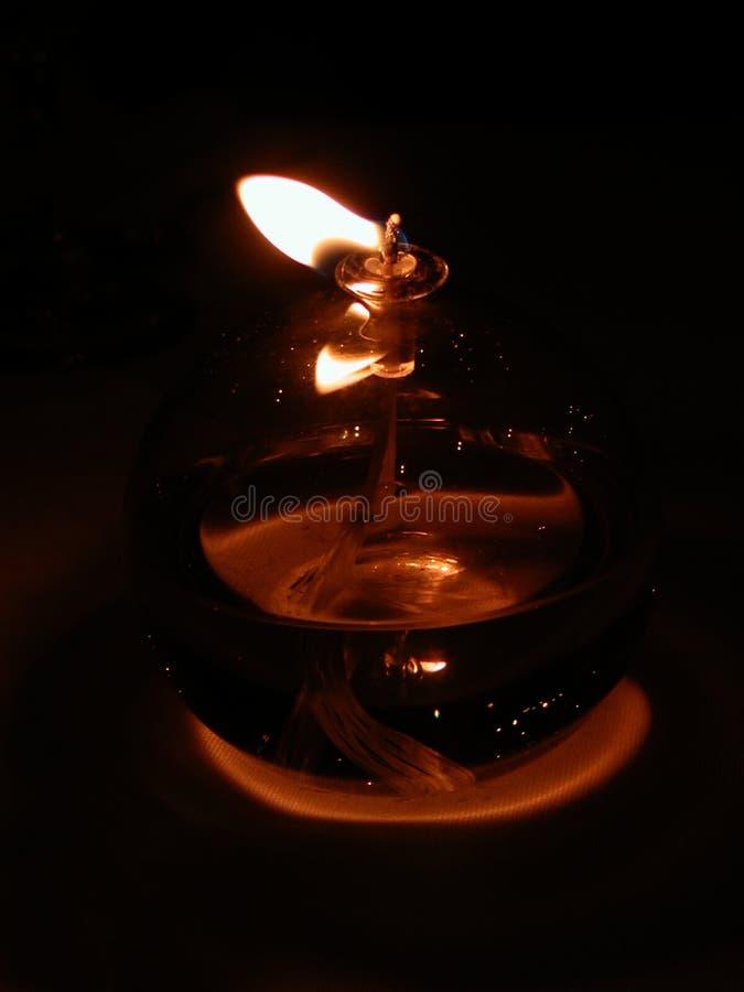 Llama En El Viento Foto de archivo