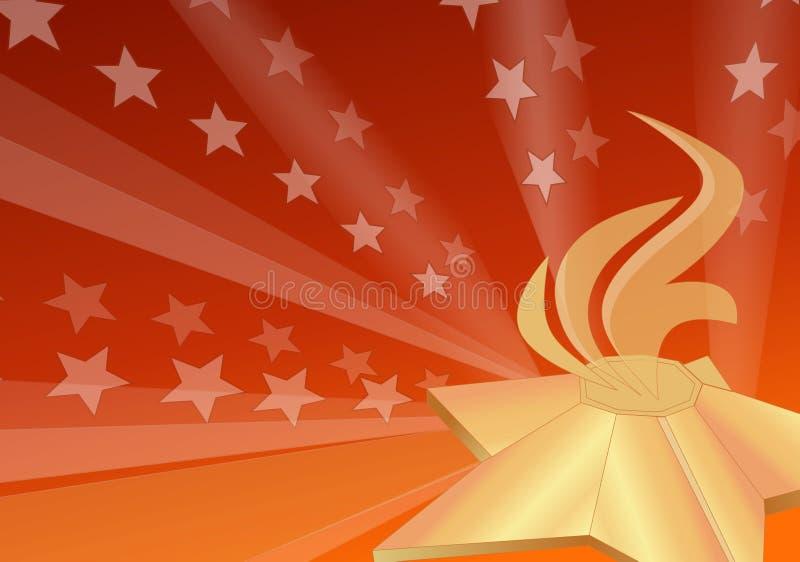 Llama eterna ilustración del vector
