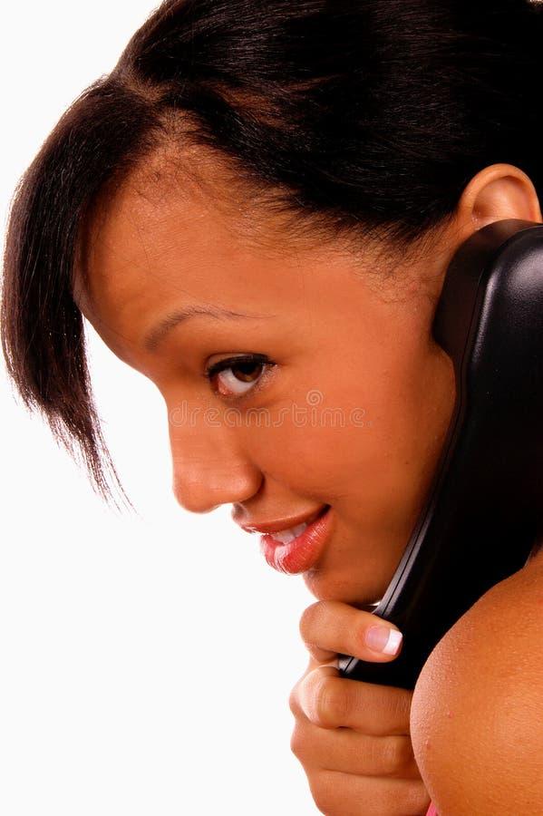 Llamada de teléfono fotografía de archivo libre de regalías