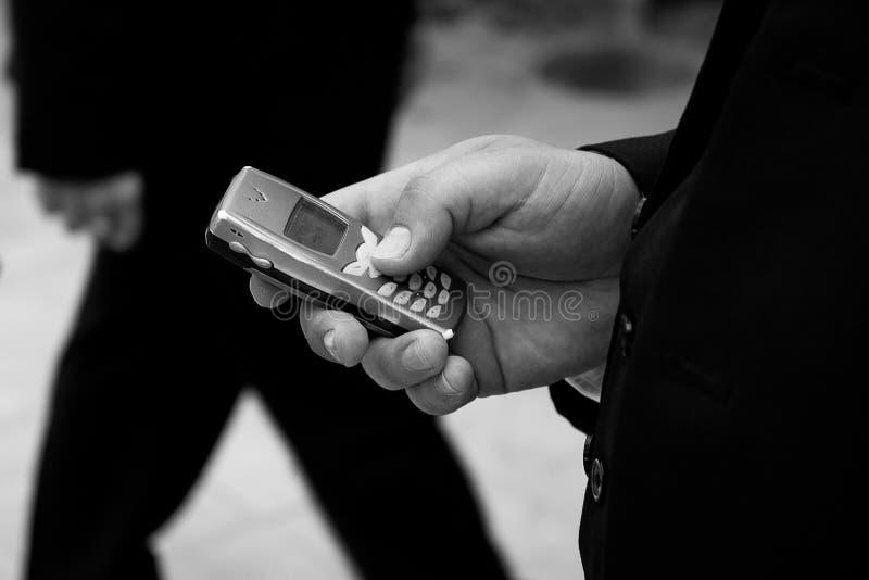 Llamada de teléfono I imagen de archivo libre de regalías