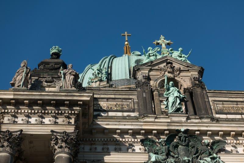 Llaman Berlin Cathedral los Dom de Berliner foto de archivo