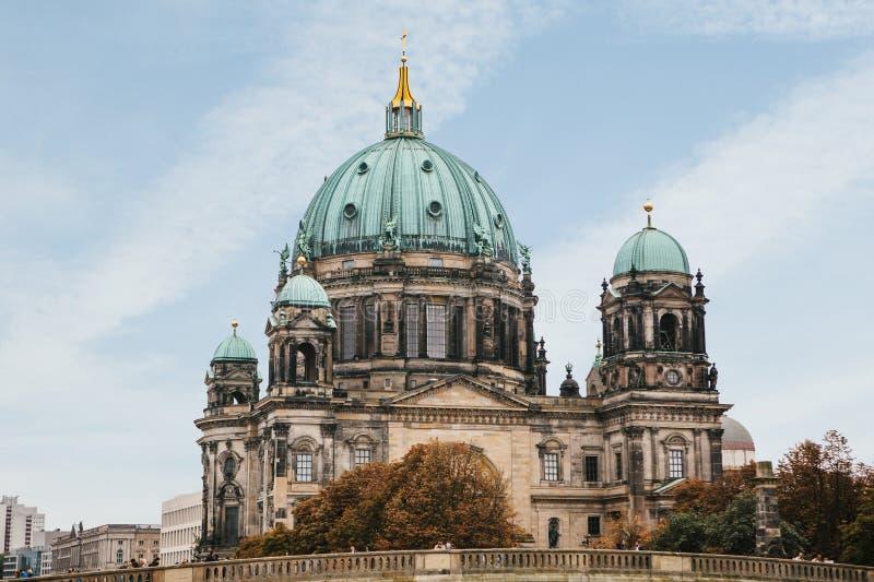 Llaman Berlin Cathedral los Dom de Berliner Berlín, Alemania imagen de archivo libre de regalías