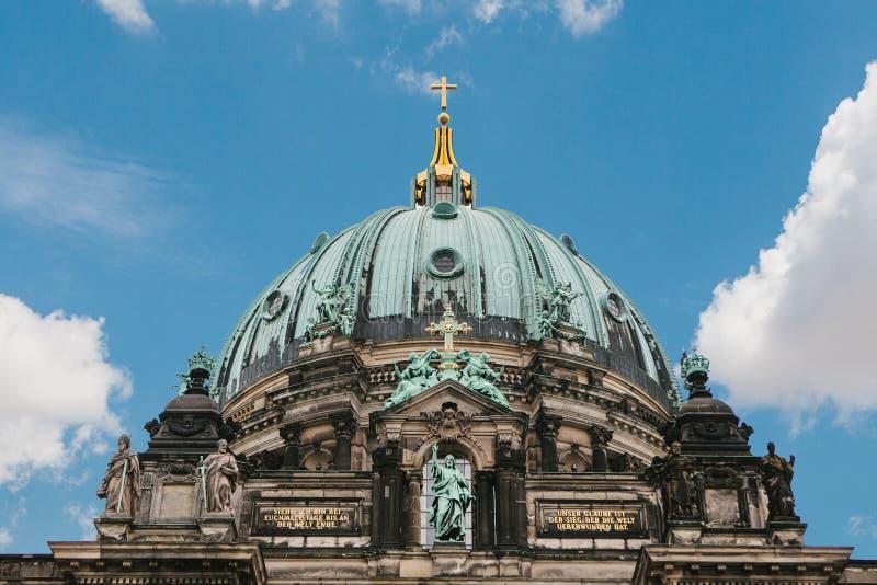 Llaman Berlin Cathedral los Dom de Berliner Berlín, Alemania foto de archivo