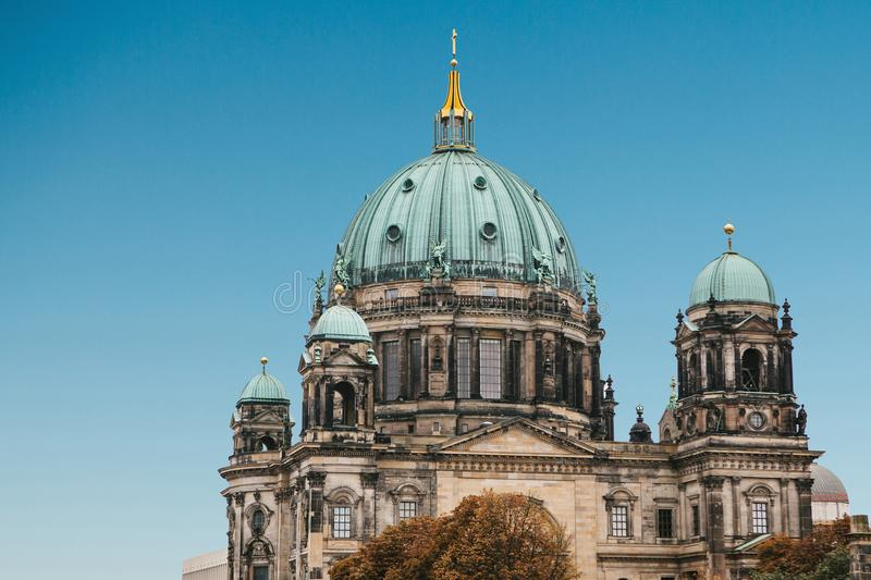 Llaman Berlin Cathedral los Dom de Berliner Berlín, Alemania foto de archivo libre de regalías