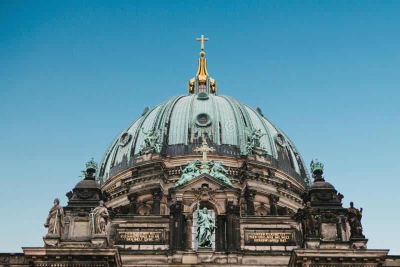 Llaman Berlin Cathedral los Dom de Berliner Berlín, Alemania fotografía de archivo libre de regalías
