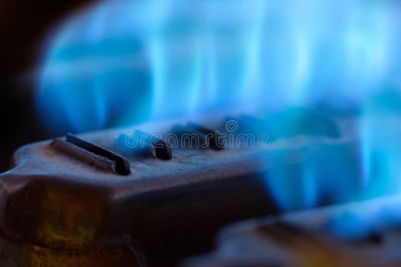 Llamas azules fotografía de archivo libre de regalías