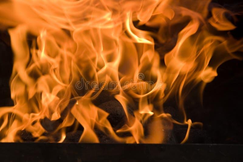 Llamas calientes imagen de archivo libre de regalías
