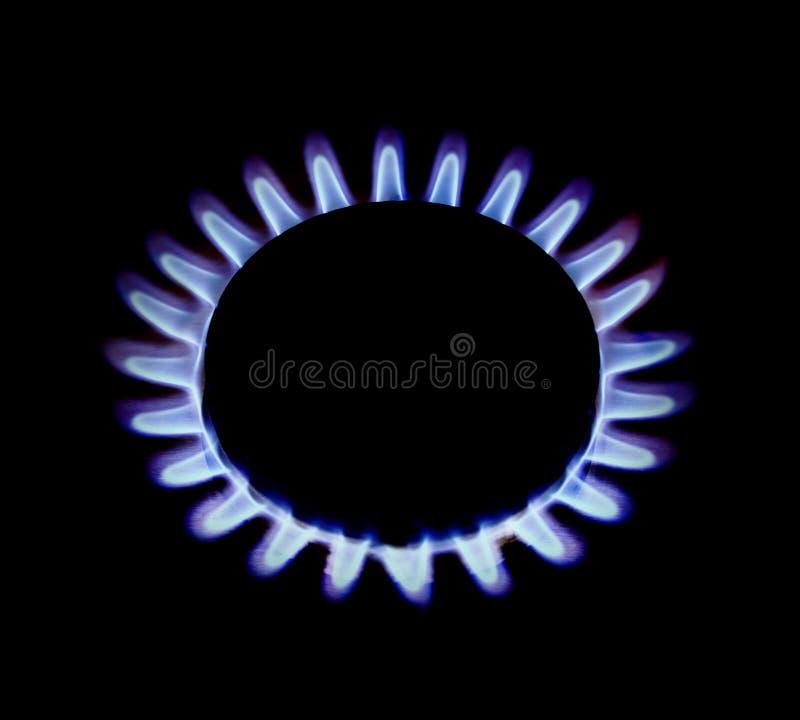 Llamas del anillo de gas imagenes de archivo