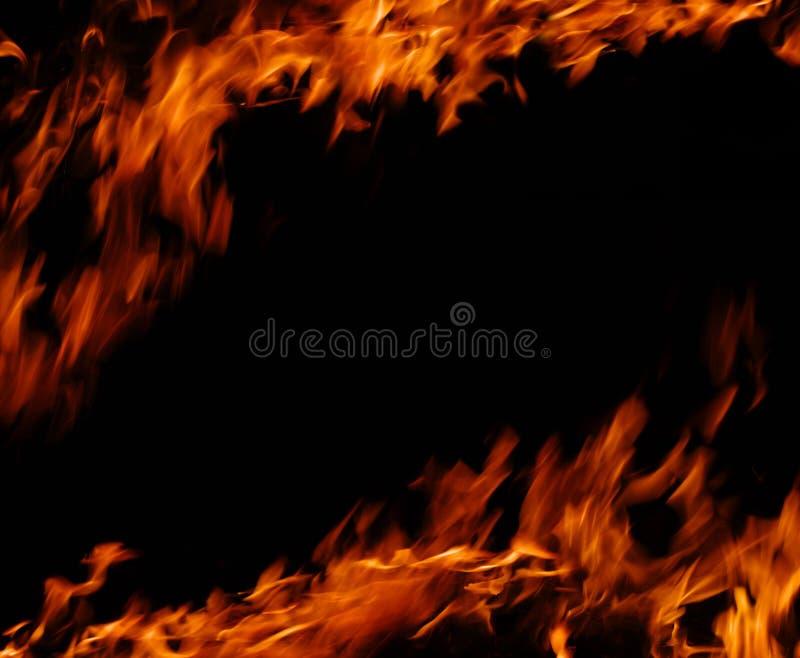Llamas del fuego fotos de archivo
