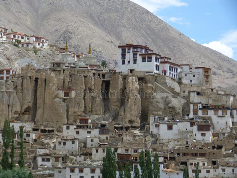 Llamayuru, Tibetan temple stock image