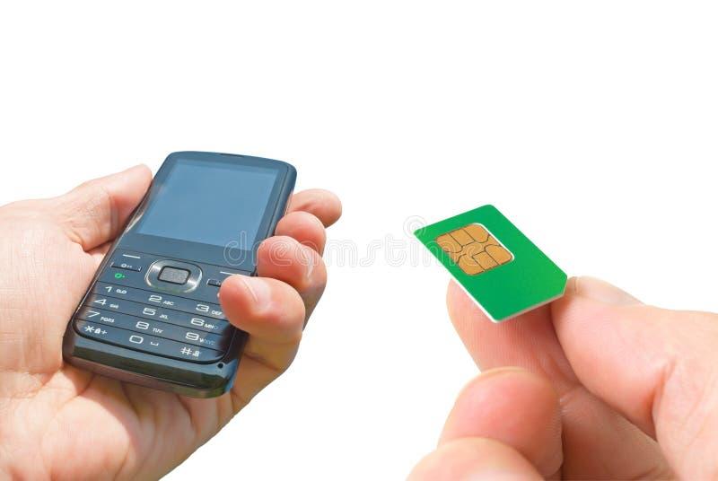 Mantenga los teléfonos celulares de la reparación. imágenes de archivo libres de regalías