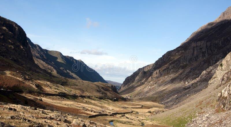 llanberis północny przepustki snowdonia Wales obraz royalty free