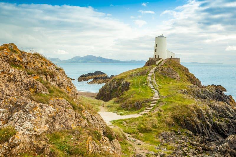 Llanddwyn海岛- Anglesey 库存照片
