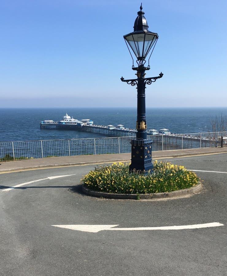 Llandudno码头 免版税图库摄影