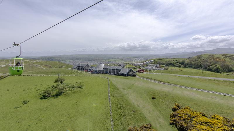 Llandudno Gales norte - o grande Orme imagem de stock