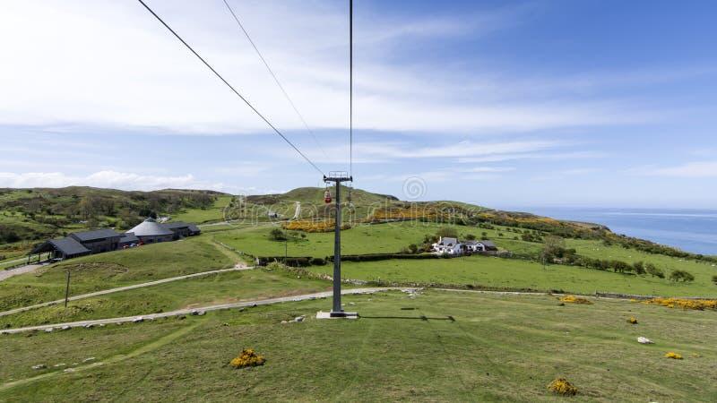 Llandudno Galles del nord - il grande Orme immagine stock libera da diritti