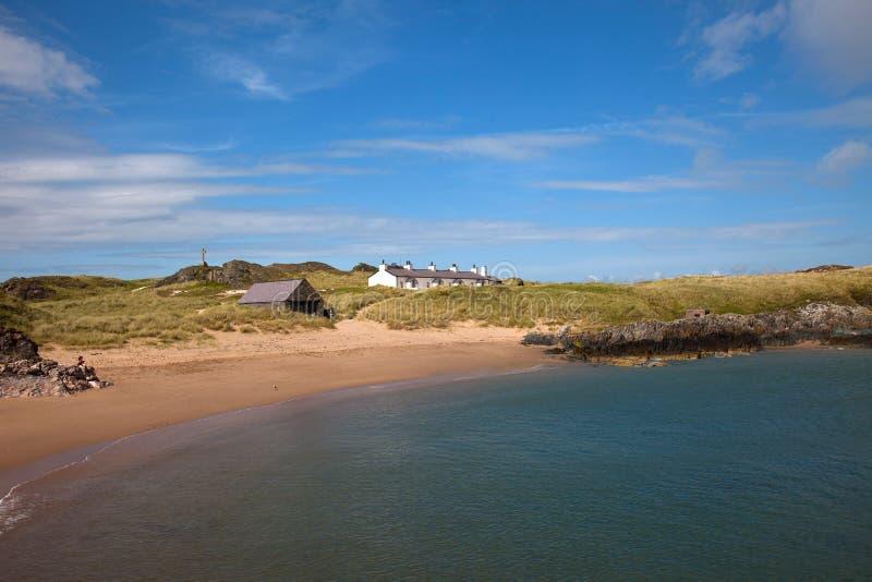 Download Llandwyn Insel stockfoto. Bild von ozean, kanu, nord - 26363770