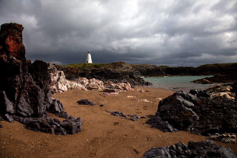 Download Llandwyn Insel stockbild. Bild von küstenlinie, insel - 26363857