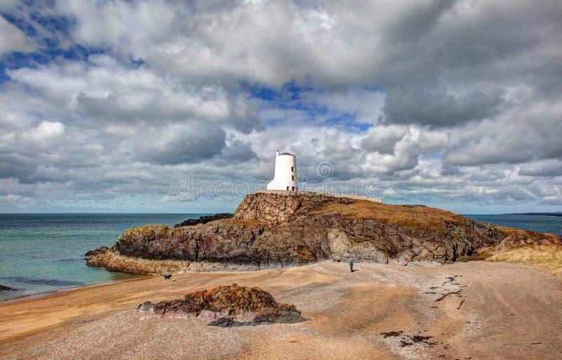 Llandwyn wyspa fotografia royalty free