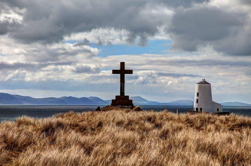 Llandwyn wyspa zdjęcie stock