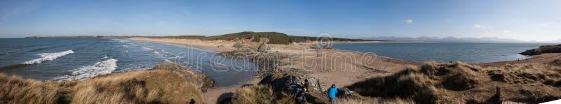 Llandwyn wyspa obraz stock
