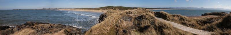 Llandwyn wyspa obraz royalty free