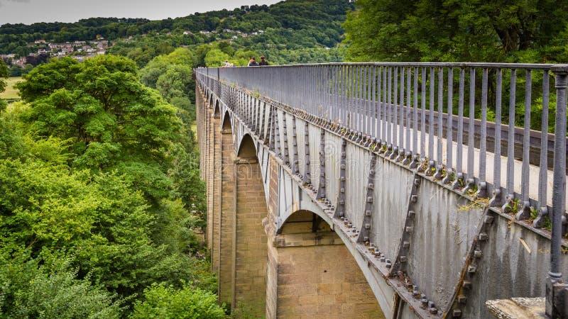 Llangollen akwedukt w Walia, UK obraz royalty free
