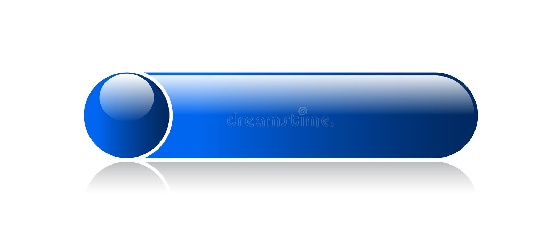 Llano del botón de la web libre illustration