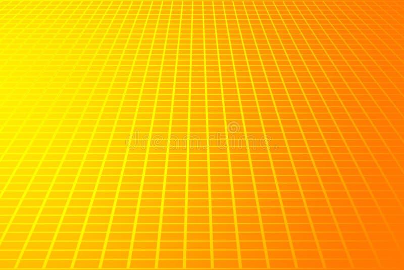 Llano gris del espacio stock de ilustración