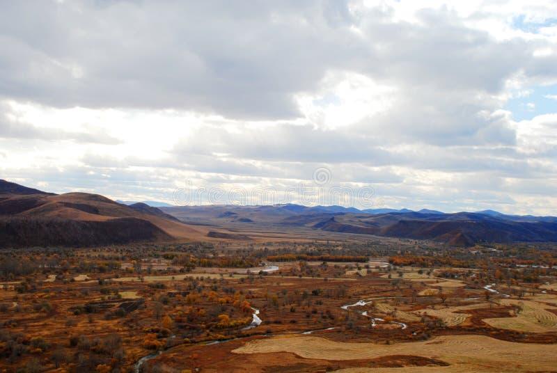 Llano rojo imagen de archivo