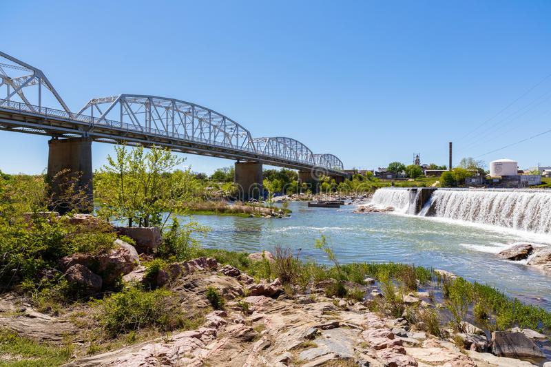 Llano Texas Bridge royalty free stock photo