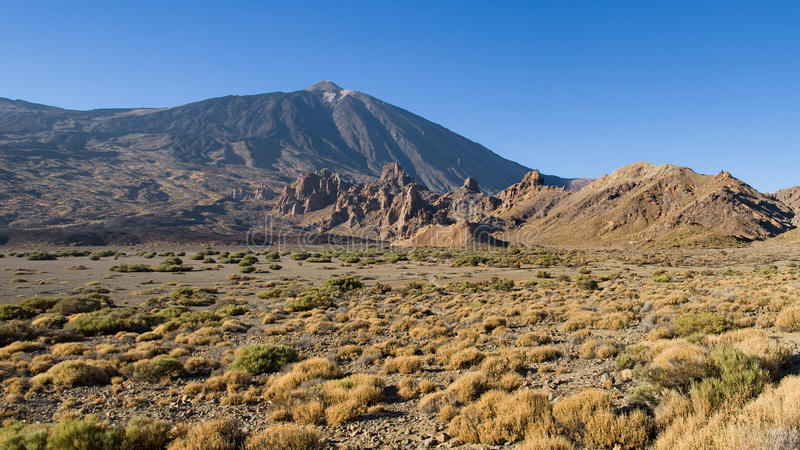 Download Llanos de Ucanca stock photo. Image of geology, plain - 26843914