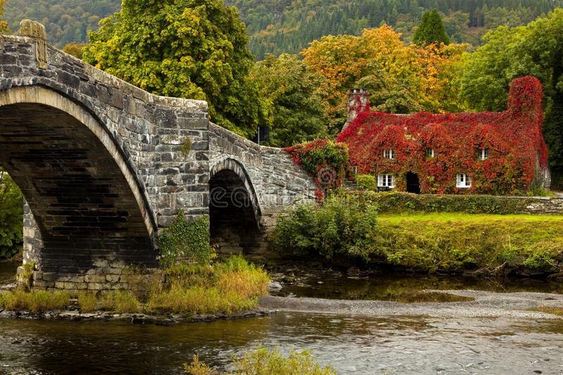 LLanrwst Pays de Galles photo stock