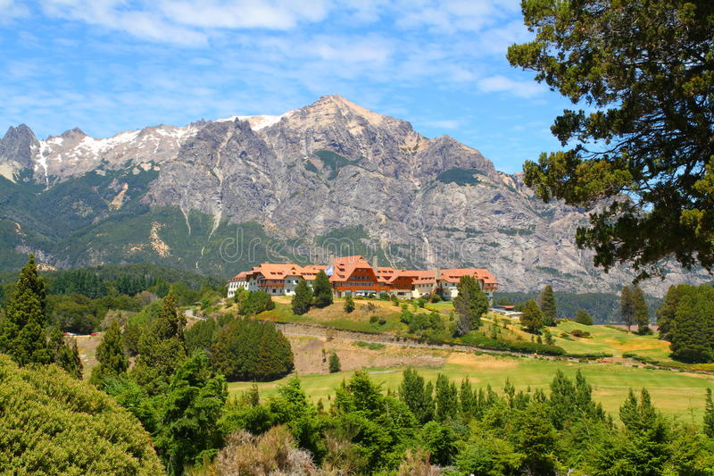 Llao LLao - Bariloche - Argentina. Photo showing the famous LLao LLao in Bariloche - Argentina stock photos