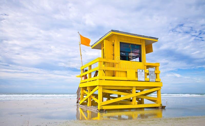 Llave de la siesta de la playa de la Florida imagenes de archivo