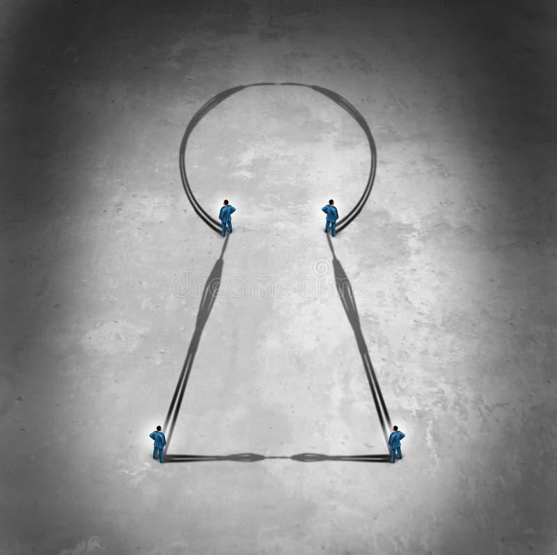 Llave de la unidad de negocio libre illustration