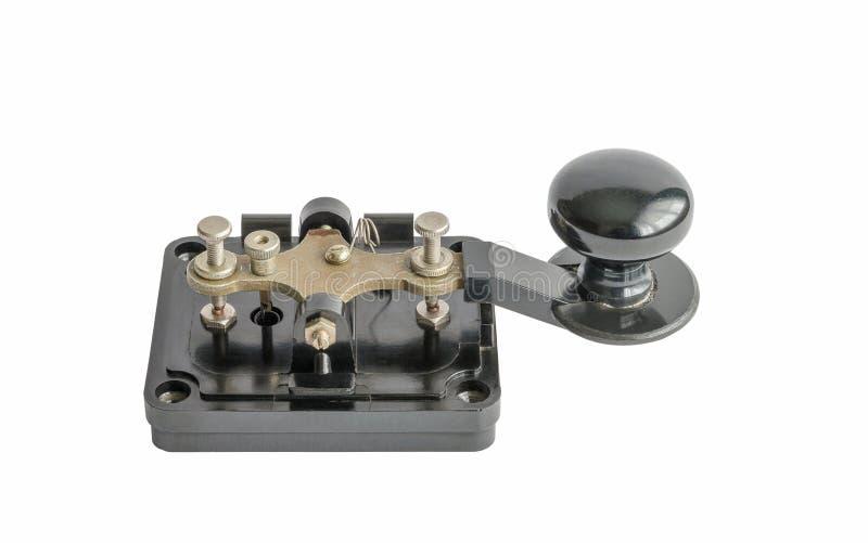Llave de Morse imagenes de archivo