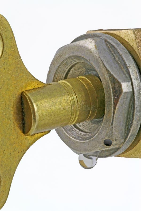 Llave de tornillo de corrimiento imagen de archivo