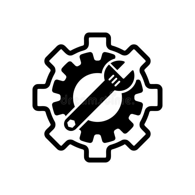 llave inglesa, reparaci?n, llave, industria, destornillador, engranaje, ajustes, equipo, servicio, mantenimiento, icono del color libre illustration