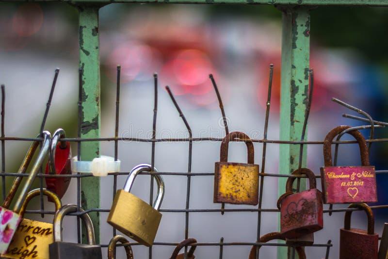 Llaves del amor imágenes de archivo libres de regalías