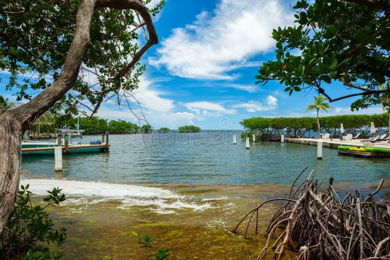 Llaves escénicas de la Florida foto de archivo