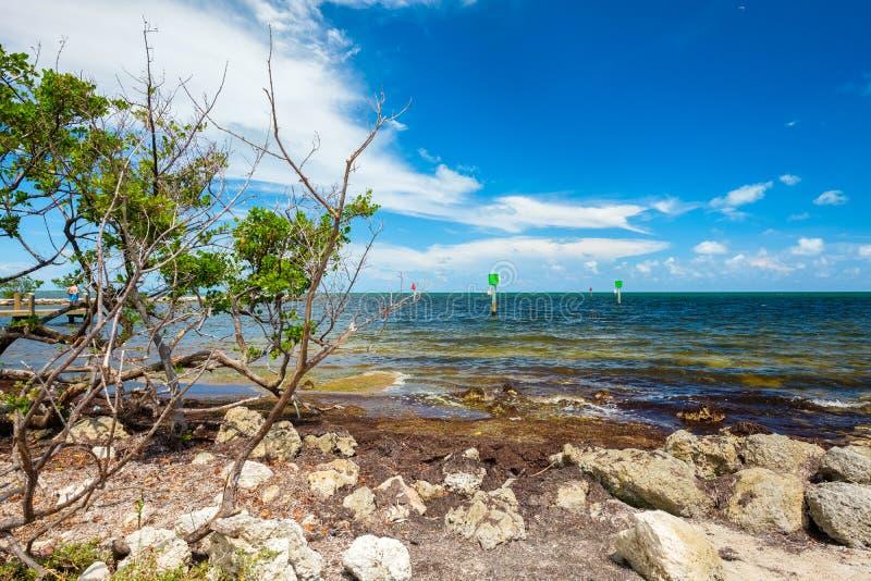 Llaves escénicas de la Florida imagen de archivo