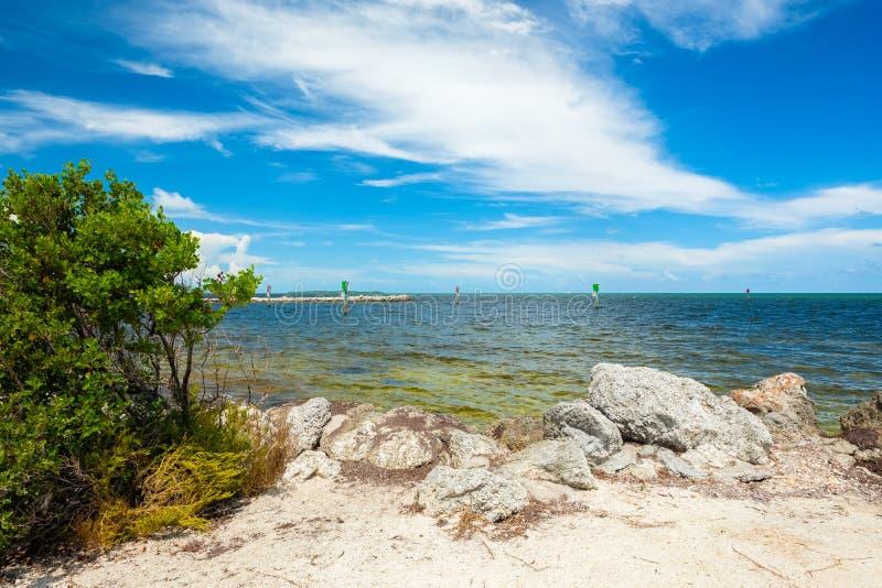 Llaves escénicas de la Florida foto de archivo libre de regalías