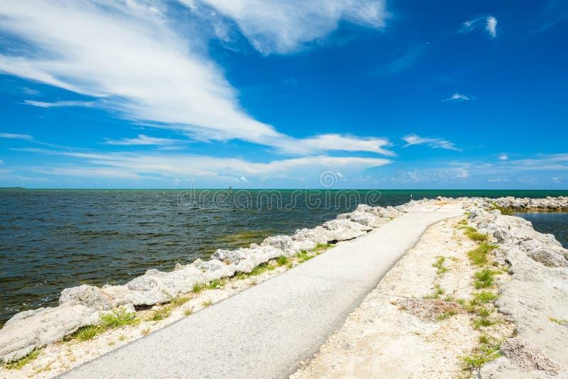 Llaves escénicas de la Florida imagenes de archivo