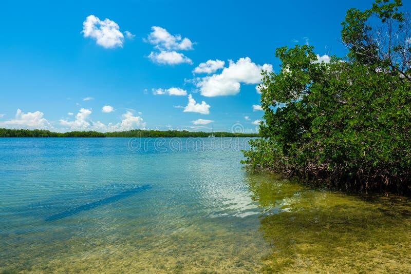 Llaves escénicas de la Florida imagen de archivo libre de regalías