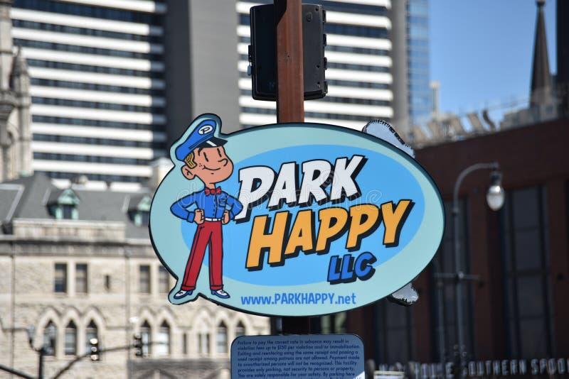 LLC heureux de parc, Nashville, TN photos libres de droits