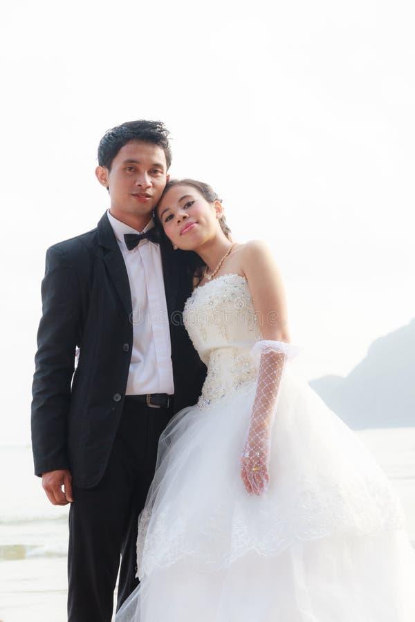 Lle nozze delle coppie immagini stock libere da diritti