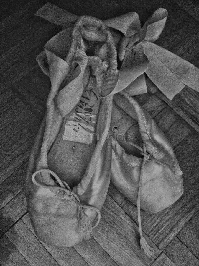 Lle scarpe di una minuscola fotografie stock