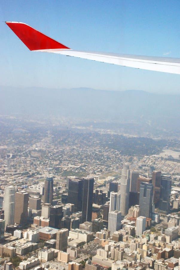 Llegada a Los Ángeles fotografía de archivo